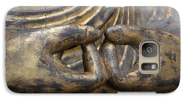 Galaxy Case featuring the photograph Buddha 3 by Lynn Sprowl