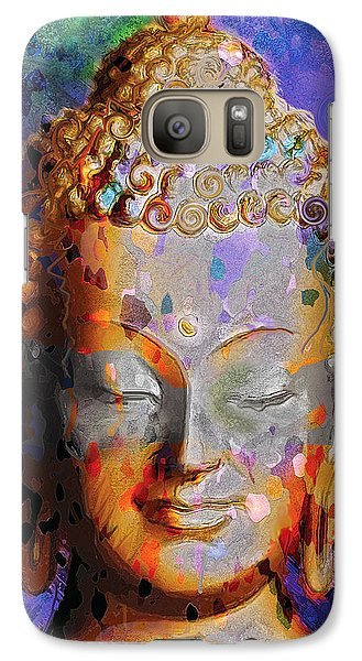 Galaxy Case featuring the painting Buddha by David Klaboe