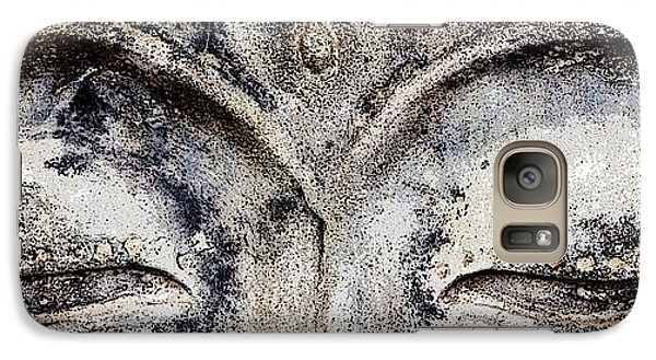 Galaxy Case featuring the photograph Buddha Eyes by Roselynne Broussard