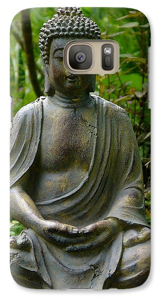Galaxy Case featuring the photograph Buddha by Keith Hawley