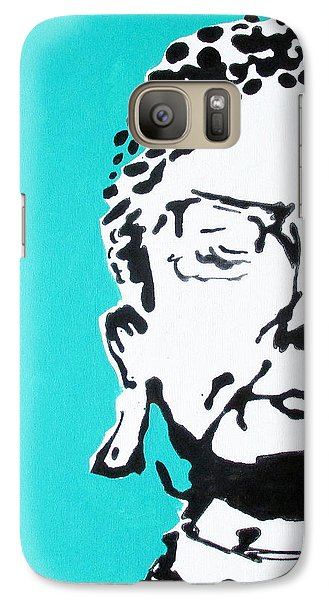 Galaxy Case featuring the painting Buddha by Nicole Gaitan