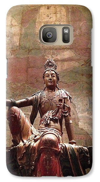 Galaxy Case featuring the photograph Buddha by Rod Seel