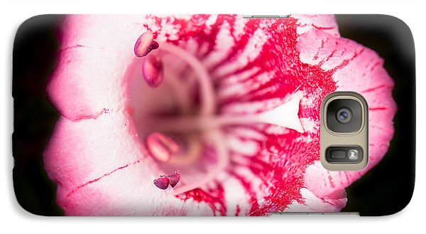 Galaxy Case featuring the photograph Budding Flower by John Wadleigh