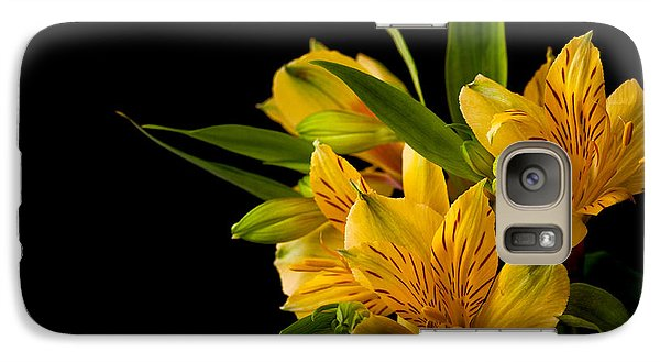 Galaxy Case featuring the photograph Budding Flowers by Sennie Pierson