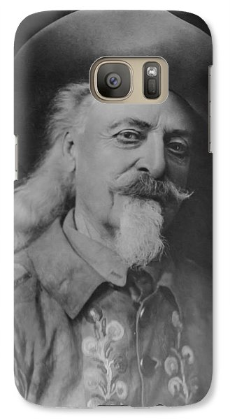 Galaxy Case featuring the photograph Buffalo Bill Cody by Charles Beeler