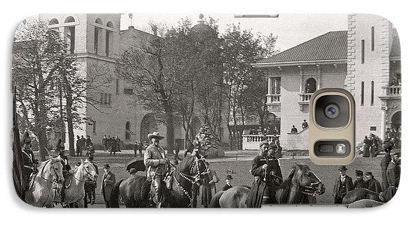 Galaxy Case featuring the photograph Buffalo Bill Columbian Exposition 1893 by Martin Konopacki Restoration
