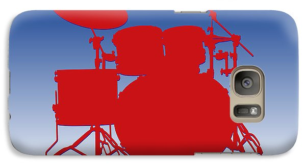 Buffalo Bills Drum Set Galaxy S7 Case by Joe Hamilton