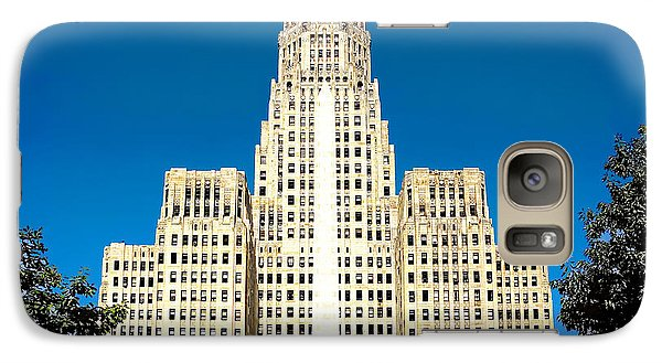 Galaxy Case featuring the photograph Buffalo City Hall by Jim Lepard