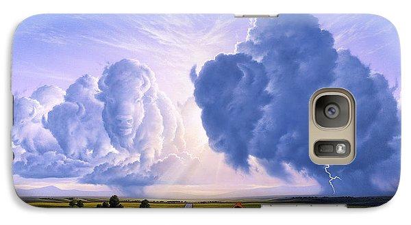 Bison Galaxy S7 Case - Nato Buffalo Crossing by Jerry LoFaro