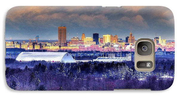 Galaxy Case featuring the photograph Buffalo From Chestnut Ridge by Don Nieman