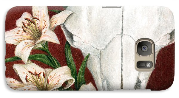 Galaxy Case featuring the painting Buffalo Lilies by Pat Erickson