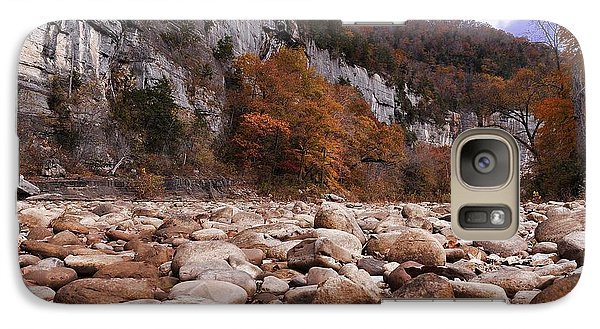 Galaxy Case featuring the photograph Buffalo River by Renee Hardison