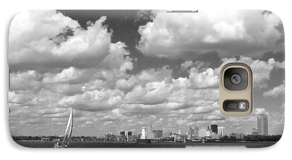 Galaxy Case featuring the photograph Buffalo Skyline by Cindy Haggerty
