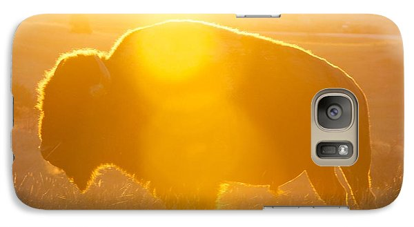 Galaxy Case featuring the photograph Buffalo Sunrise by Kevin Bone