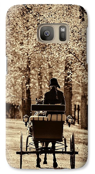 Galaxy Case featuring the photograph Buggy Ride by Joan Davis