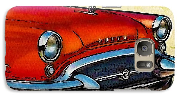 Galaxy Case featuring the painting Buick Automobile by Robert Smith