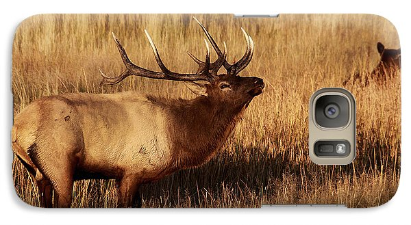 Galaxy Case featuring the photograph Bull Elk by Clare VanderVeen