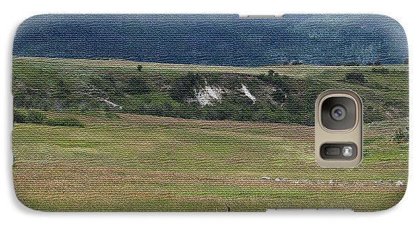 Galaxy Case featuring the photograph Bull Elk In Velvet Ver 2 by Daniel Hebard