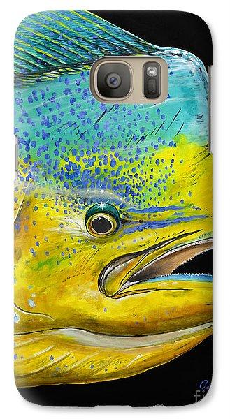 Bull Head Off0033 Galaxy S7 Case by Carey Chen