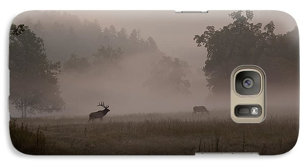 Galaxy Case featuring the photograph Cataloochee Valley by Doug McPherson