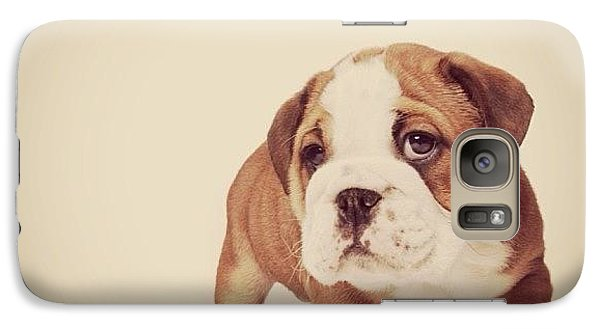 Bulldog Pup Galaxy S7 Case