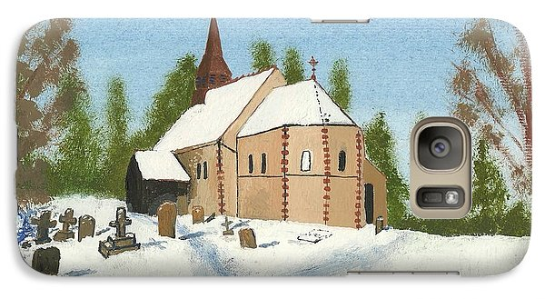 Galaxy Case featuring the painting Bulley Church by John Williams