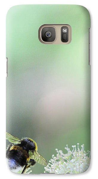 Galaxy Case featuring the photograph Bumble Bee by Jivko Nakev