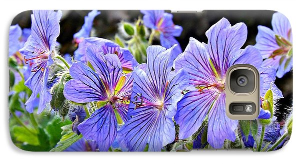 Galaxy Case featuring the photograph Bunches by Clare Bevan