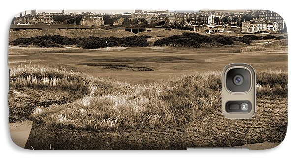 Galaxy Case featuring the photograph Bunker At St. Andrews Old Course Scotland by Sally Ross