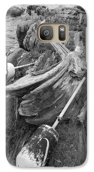 Galaxy Case featuring the photograph Buoys By The Sea by Jean Goodwin Brooks