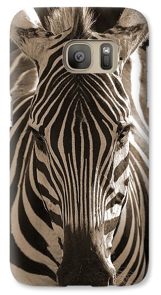 Galaxy Case featuring the photograph Burchell's Zebra by Chris Scroggins