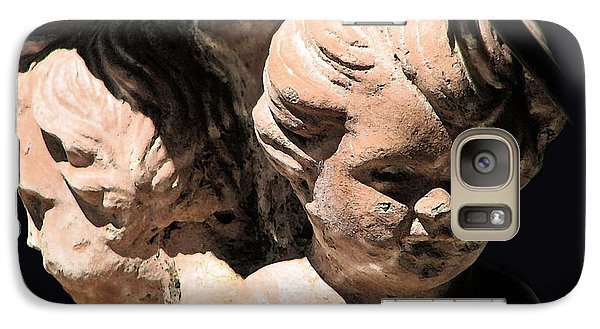Galaxy Case featuring the photograph Burdened By Time by Ellen Cotton