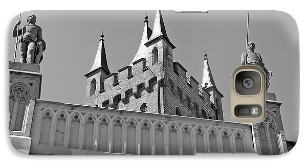 Galaxy Case featuring the photograph Burg Hohenzollern by Carsten Reisinger
