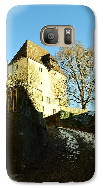 Galaxy Case featuring the photograph Burgdorf Castle In December by Felicia Tica