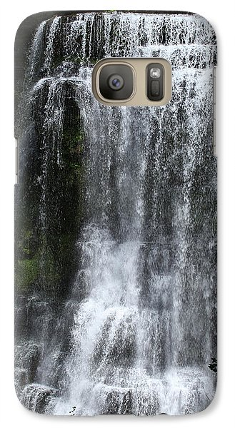 Galaxy Case featuring the photograph Burgess Falls by Harold Rau