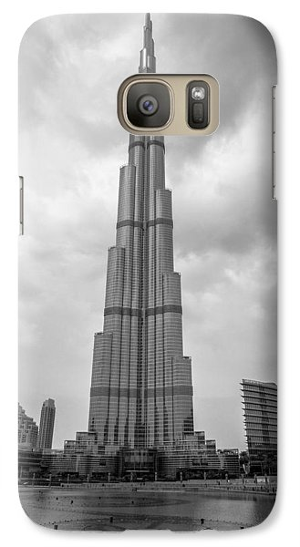 Galaxy Case featuring the photograph Burj Khalifa by Robert  Aycock