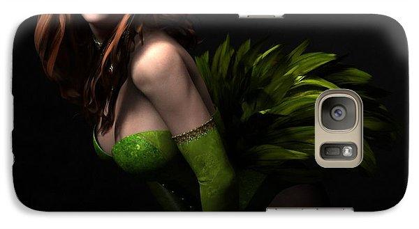 Galaxy Case featuring the digital art Burlesque by Sandra Bauser Digital Art