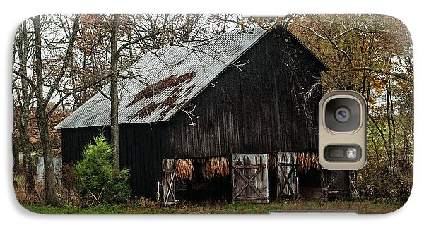 Galaxy Case featuring the photograph Burley Tobacco  Barn by Debbie Green