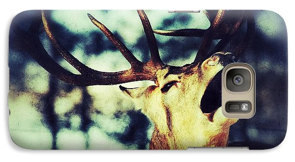 Galaxy Case featuring the photograph Burling Deer by Nick  Biemans