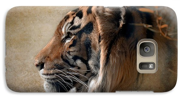 Galaxy Case featuring the photograph Burning Bright by Betty LaRue