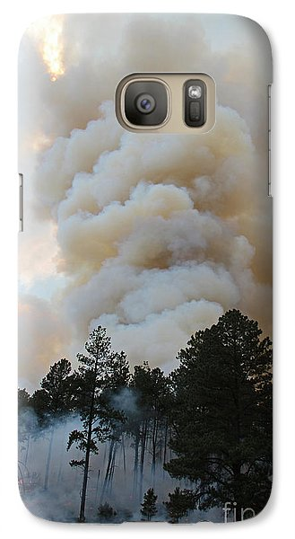 Galaxy Case featuring the photograph Burnout Near Song Dog Road by Bill Gabbert