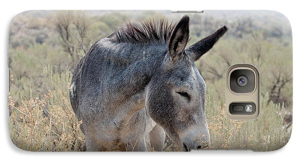Galaxy Case featuring the photograph Burro In The Mountains by Lula Adams