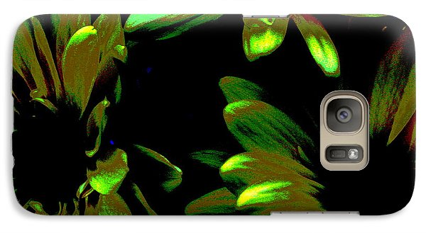 Galaxy Case featuring the photograph Burst by Greg Patzer