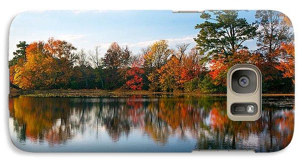 Galaxy Case featuring the photograph Burton Pond Sunset by Robert Pilkington