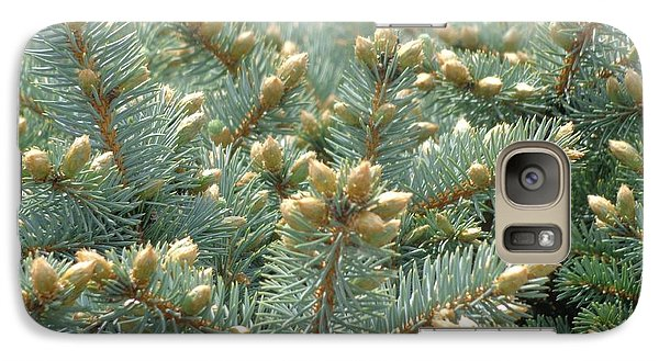 Galaxy Case featuring the photograph Bush Mountain Crest by Christina Verdgeline