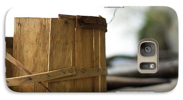 Galaxy Case featuring the photograph Bushel Basket by Rebecca Sherman
