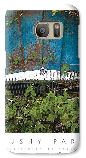 Galaxy Case featuring the digital art Bushy Park Beautifully Distressed Poster by David Davies