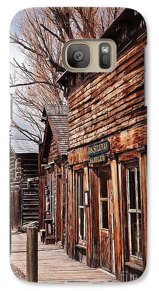 Galaxy Case featuring the photograph Business Block by Sue Smith