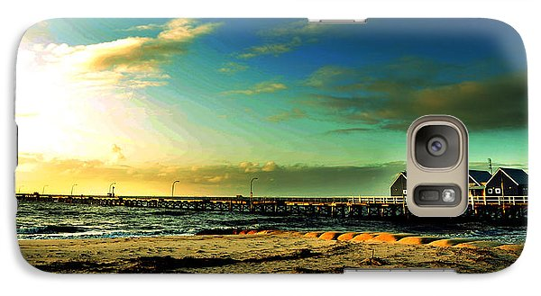 Galaxy Case featuring the photograph Busselton Jetty by Yew Kwang