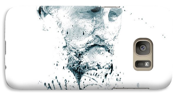 Galaxy Case featuring the photograph Bust Of A Man by James Bethanis